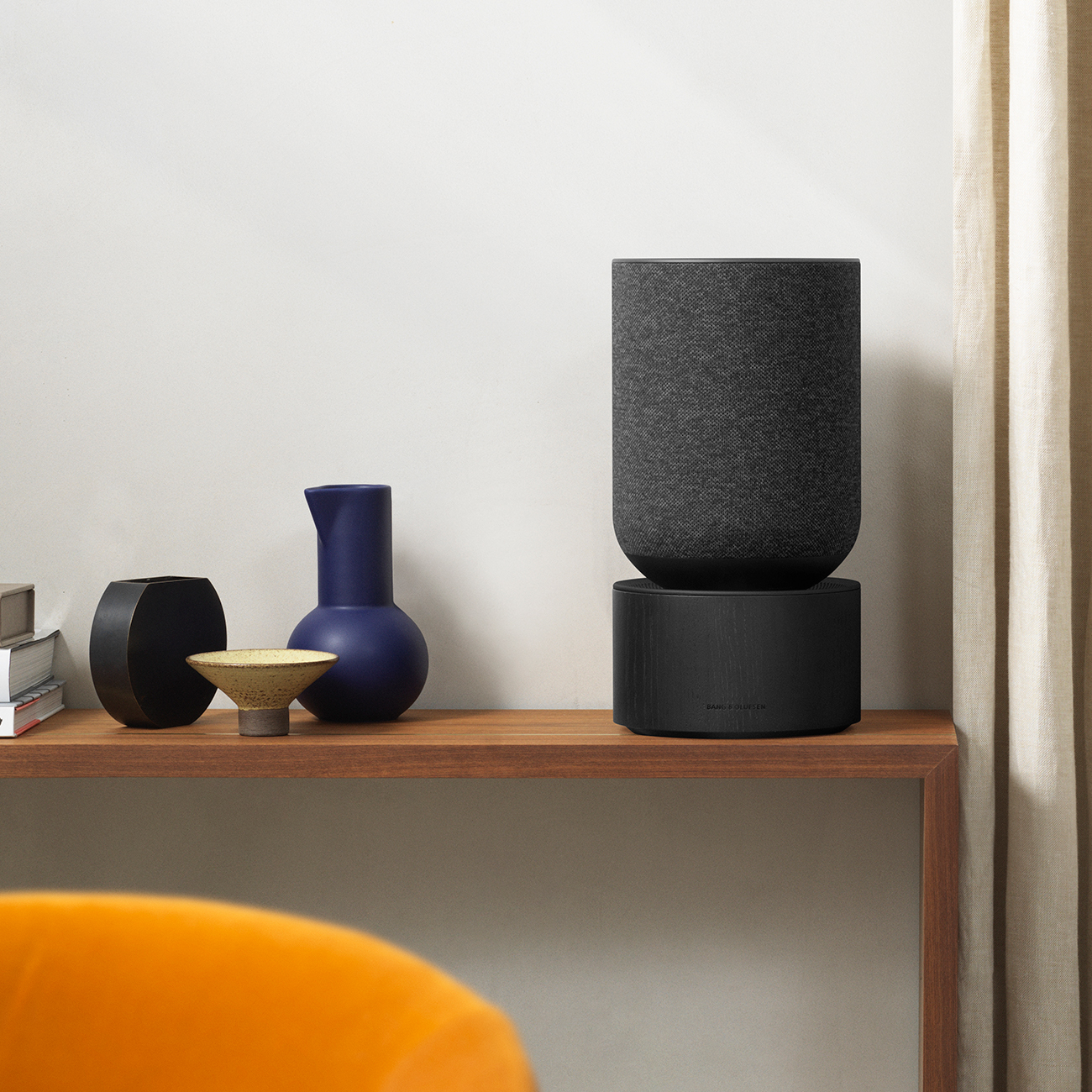 Beosound Balance black in interior setting