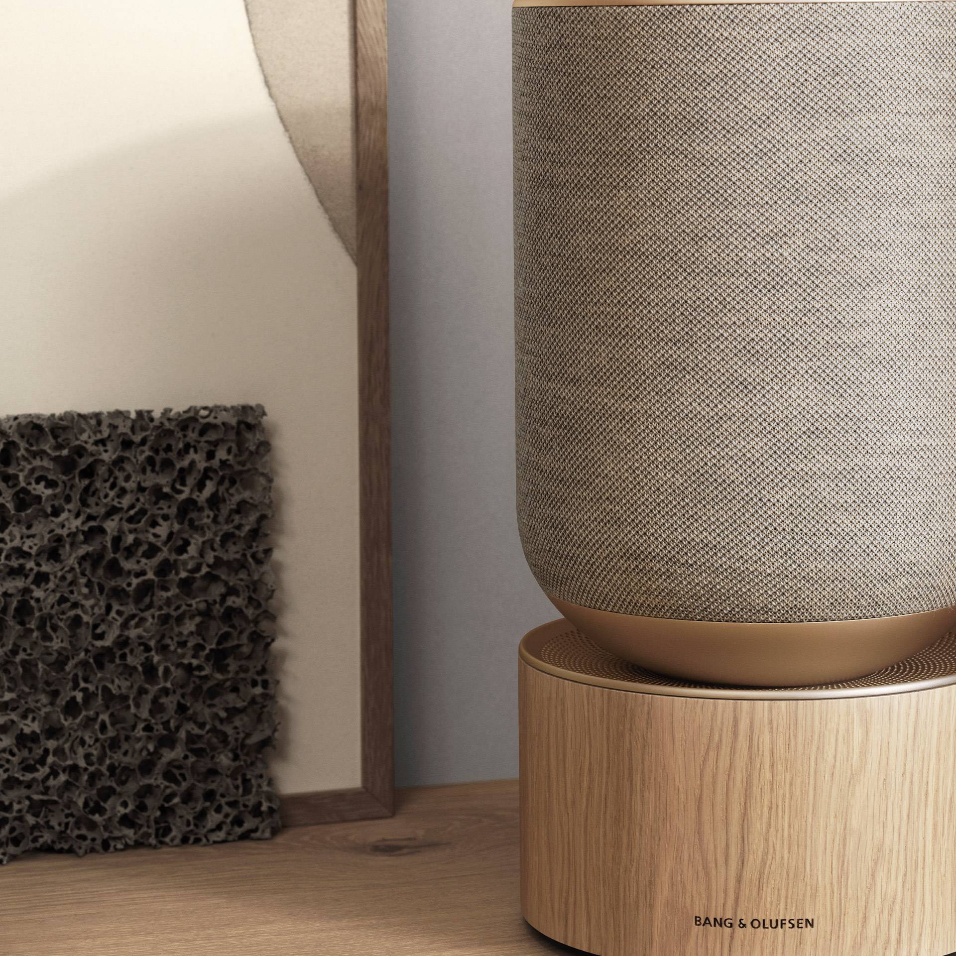 Beosound Balance Natural oak close up